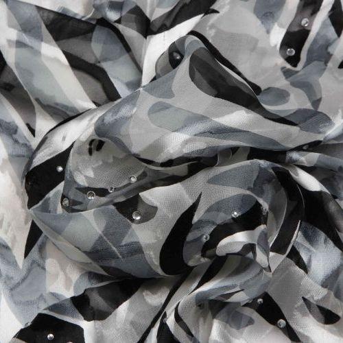 Flat Chiffon - Brasso - Print - Fancy Shading