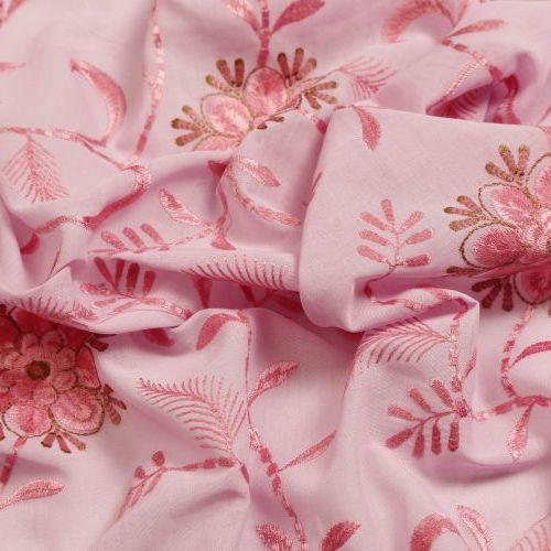 COTTON VOILE PLAIN - Embroidery