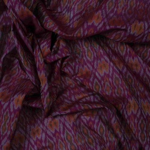 Silk Cotton Ikkat